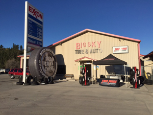 Our Location at Big Sky Tire Pros