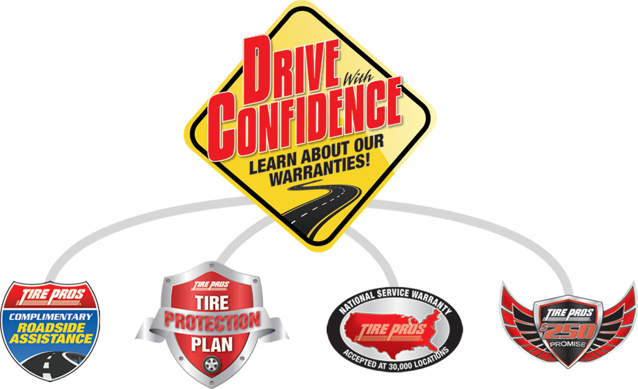 Tire Pros Drive With Confidence Guarantee at Big Sky Tire Pros in Eureka, MT 59917